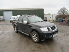 Nissan Navara Tekna 2.5DCI 4WD Auto Double Cab Pick Up, registration BF11 AEE, first registered 25