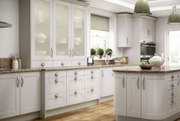 Turin cashmere kitchen range, approx. 3375 items, approx. 60 pallet locations/ spaces, Estimated