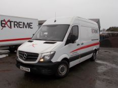 Mercedes Sprinter 316 Van, registration DA63 SVW, Jan 2014, odometer reading 140,262 miles, MOT