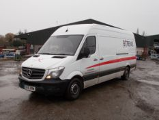 Mercedes Sprinter 316 LWB Van, registration OV15 XRM, odometer reading 144,227 miles, MOT until 3.
