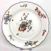 Teller / Zierteller: Meissen Porzellan, Indisch Dekor, 19. Jh.Porzellan weiß glasiert. Dekor