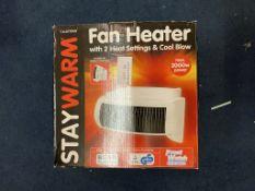 LLOYTRON 2000W STAY WARM PORTABLE FAN HEATER