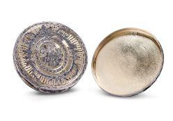 A FINE RUSSIAN NIELLO AND SILVER-GILT SNUFF BOX, LATE 18TH CENTURY