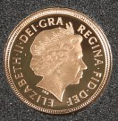 A 2003 HALF SOVEREIGN.