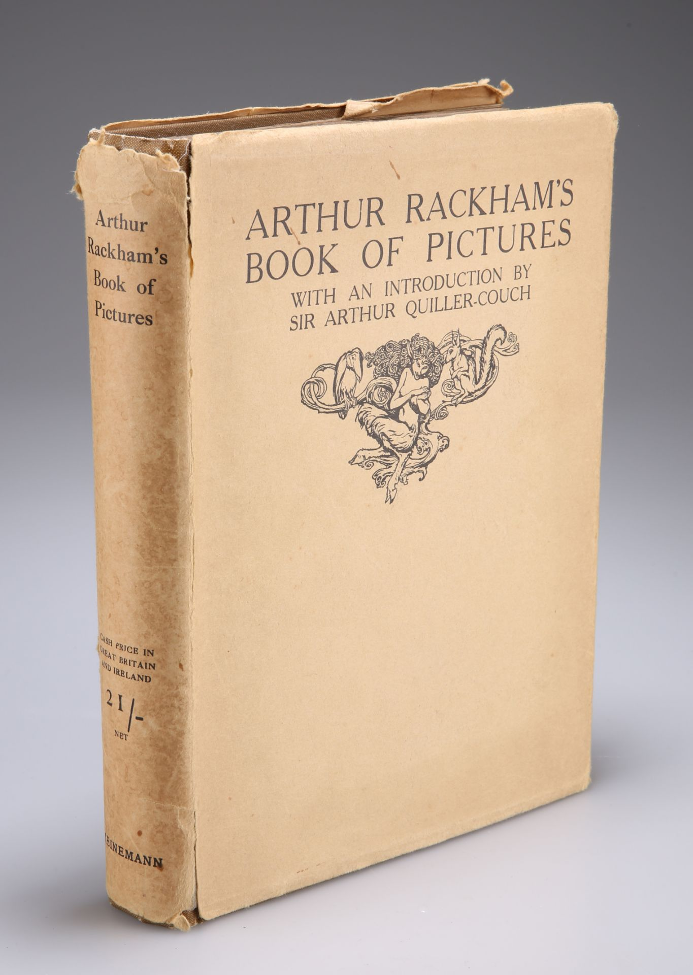 ARTHUR RACKHAM'S BOOK OF PICTURES, with an introduction by Sir Arthur Quiller-Couch, 1923 edition,