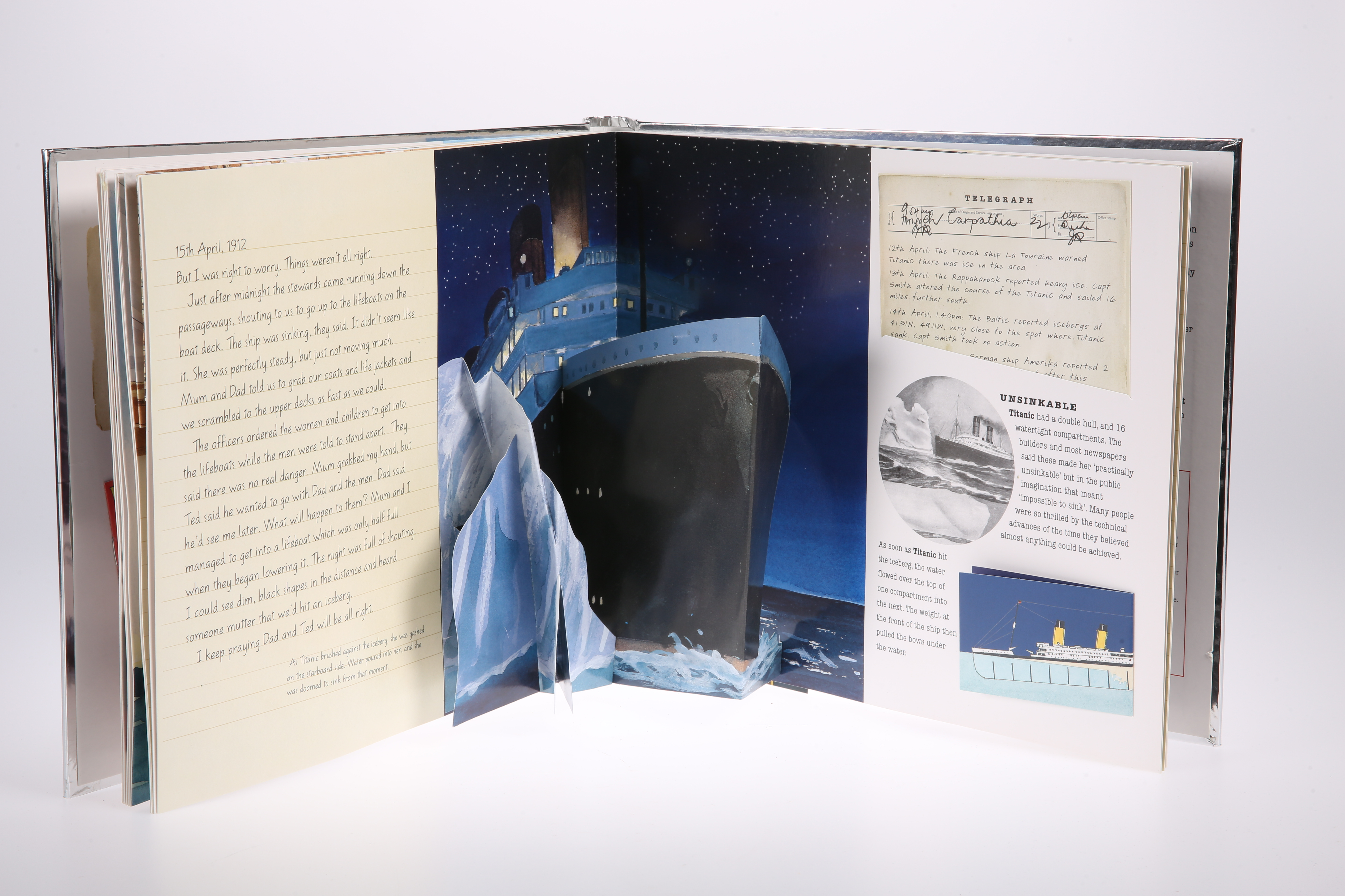 AN RMS TITANIC SILVER EIGHT-COIN COLLECTION, boxed with certificates, each corner 1oz. - Image 3 of 3