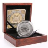A SILVER COMMEMORATIVE COIN, ST. PAUL'S CATHEDRAL, 2017, boxed with COA