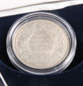 A WILLIAM IV INDIAN RUPEE, 1835; together with A GEORGE V INDIAN RUPEE, 1916. (2)