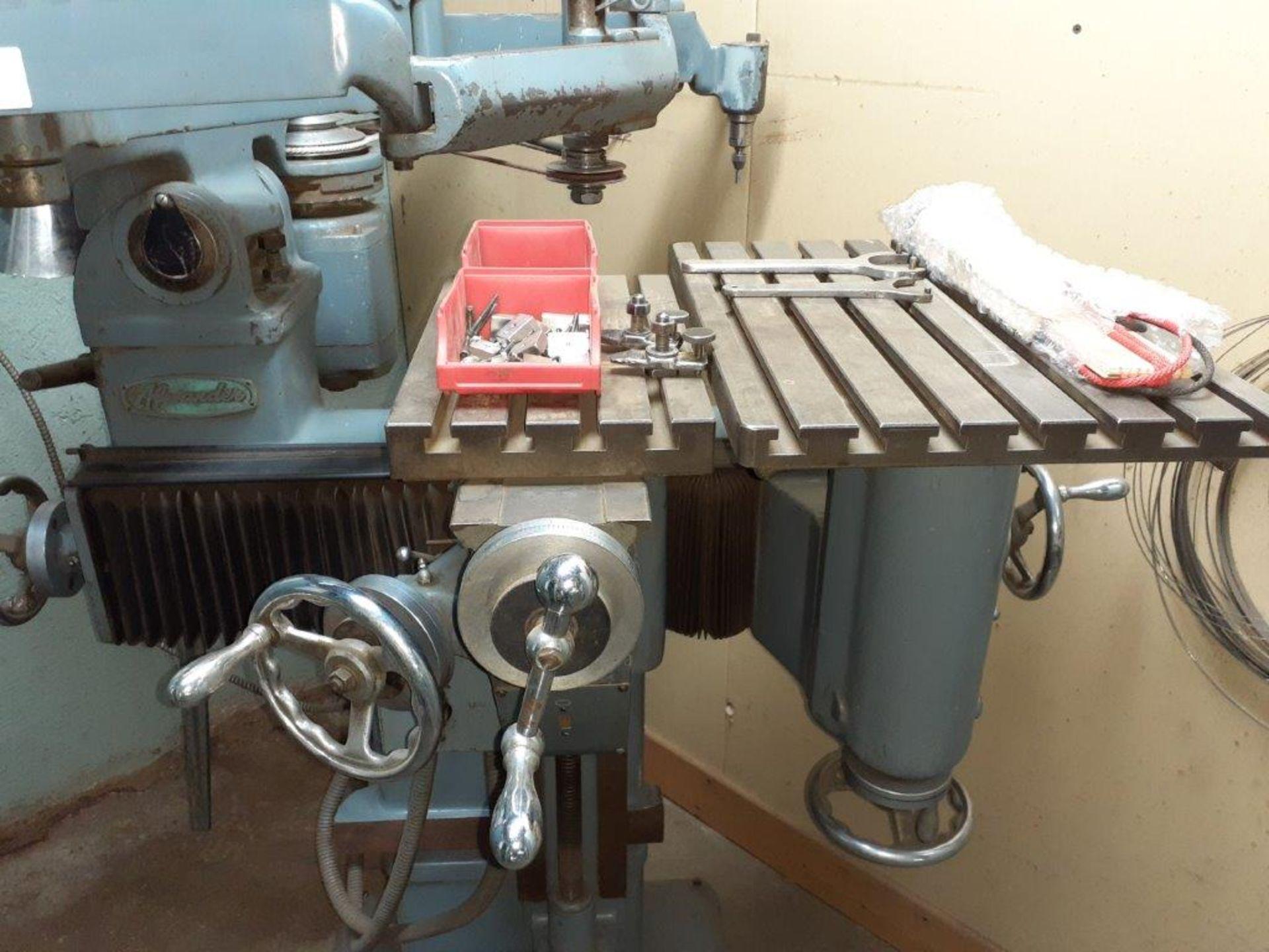 ALEXANDER PENTAGRAPH Machine, mod: 3A, c/w Metal Cabinet & Assorted Parts - Image 4 of 8