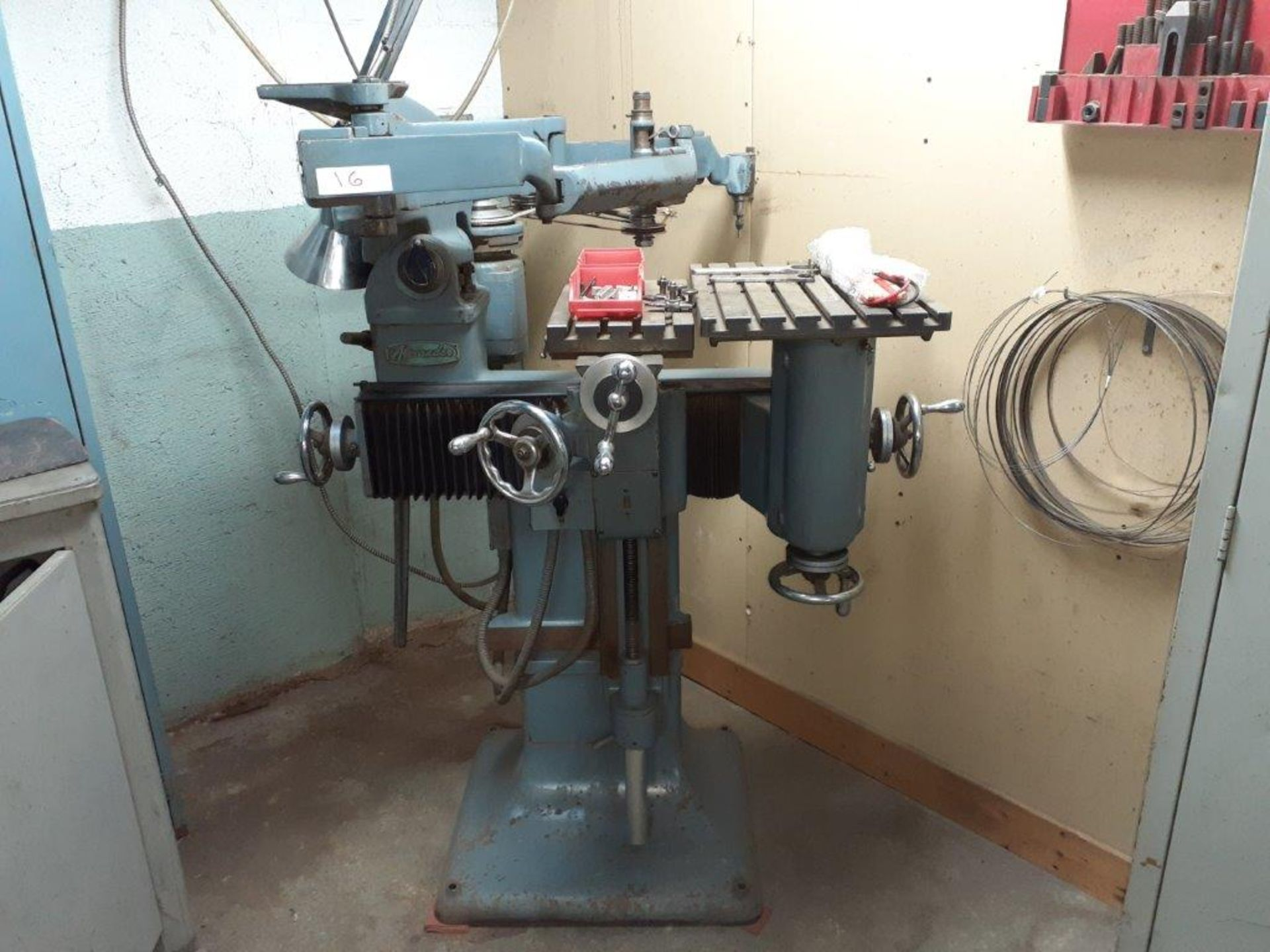 ALEXANDER PENTAGRAPH Machine, mod: 3A, c/w Metal Cabinet & Assorted Parts - Image 2 of 8