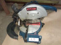 """10"""" RYOBI Angle Saw, mod: TS 230"""
