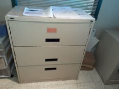 3-Drawer Lateral File Cabinets