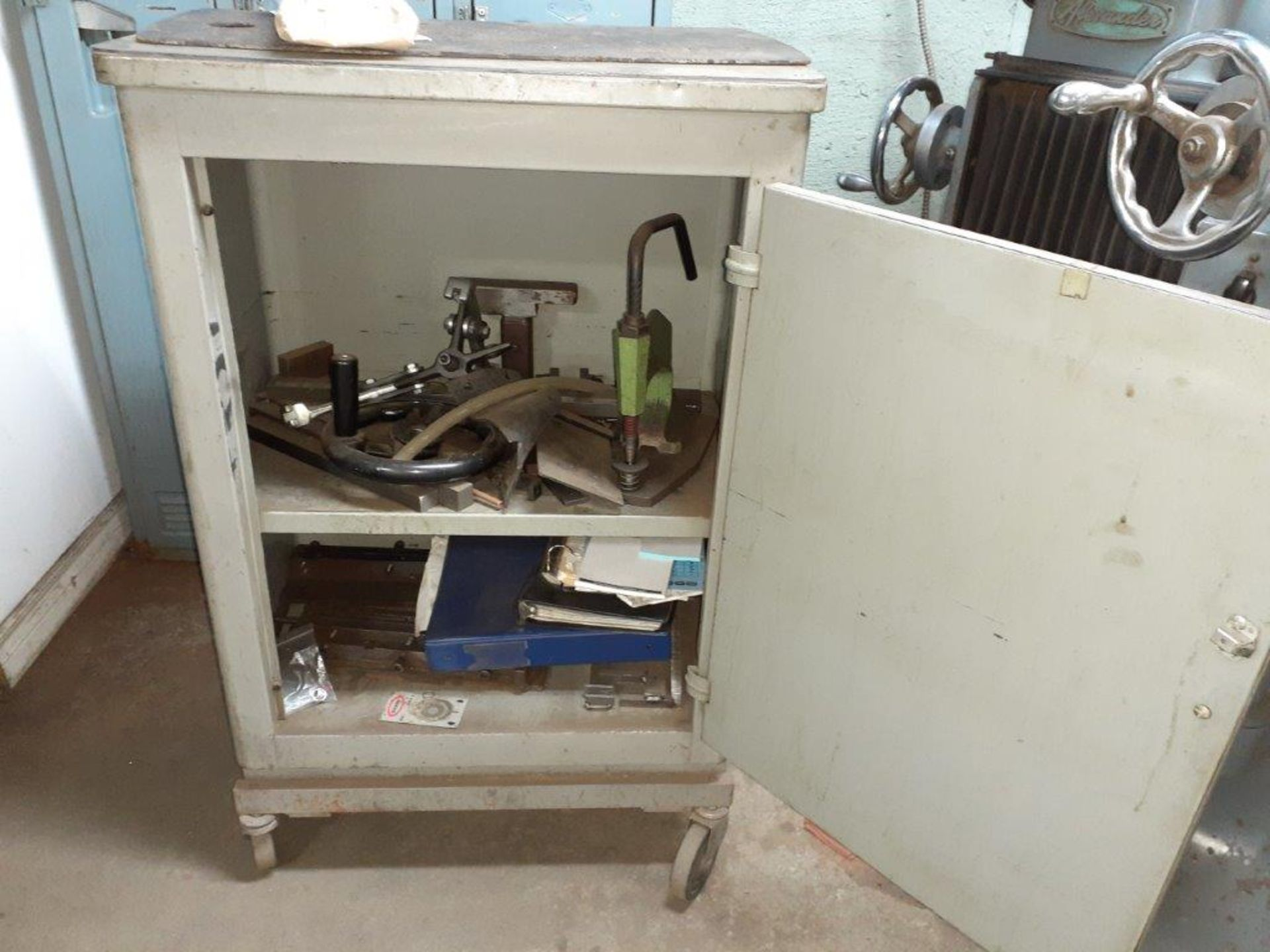 ALEXANDER PENTAGRAPH Machine, mod: 3A, c/w Metal Cabinet & Assorted Parts - Image 6 of 8