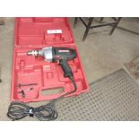 "CRAFTSMAN 1/2"" Electric Drill, c/w Case"