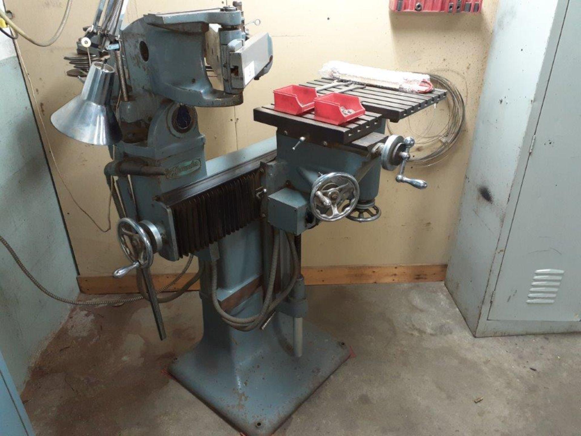 ALEXANDER PENTAGRAPH Machine, mod: 3A, c/w Metal Cabinet & Assorted Parts - Image 3 of 8
