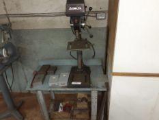 DELTA Bench Drill Press, c/w (5) assorted Drill Bit Boxes