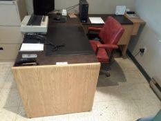 L-Shape Desk & Office Chair