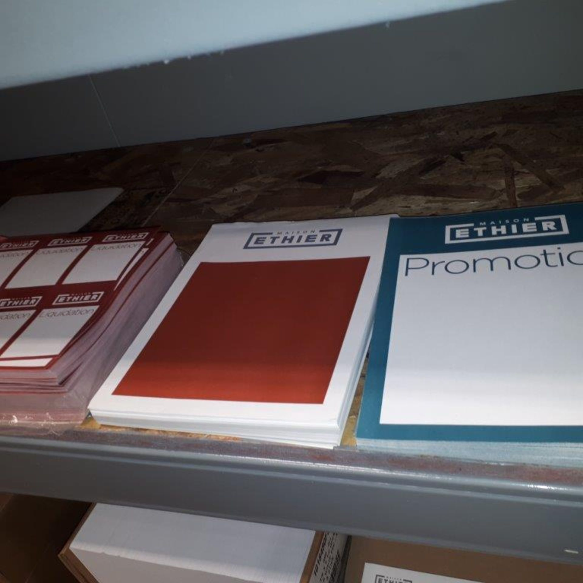 Lot 99 - Assorted labels,binders,etc... (Lot)