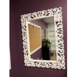 "Decorative mirror,36""x48"""