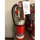 Fire extinguishers, 3pcs