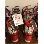 Fire extinguishers, 6pcs