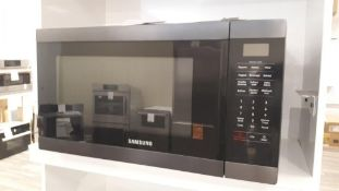 Samsung MS19M8020TG black stainless steel 1.9cu.ft microwave oven
