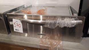 "Kitchen Aid KEWS105BSS 30"" stainless steel slow cook warming drawer"