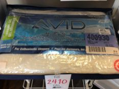 Queen size ceramic gel pillows, temperature control memory foam Avid, 2 pcs
