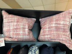 Decorative pillows, clash, 2 pcs