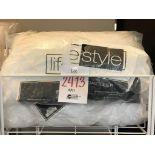 Queen size medium support pillows, lifestyle, 2 pcs