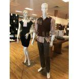 Store Manequins, 2 pcs