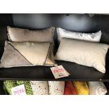 Assorted decorative pillows, Pampa, 4 pcs