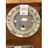 "Decoratove Round Mirror 17"""