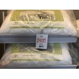 Queen size non allergenic pillows, 2 pcs
