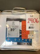 """Mattress protectors 30"""" X 80"""", 2 pcs"""