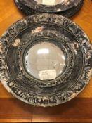 "Decorative Round mirrors 12"", 3 pcs (Lot)"