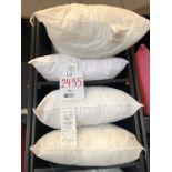 LOT: Assorted decorative pillows, 4 pcs