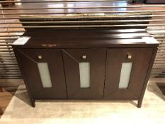 "Buffet console, 51""x16""x33"", AS IS/TEL QUEL"