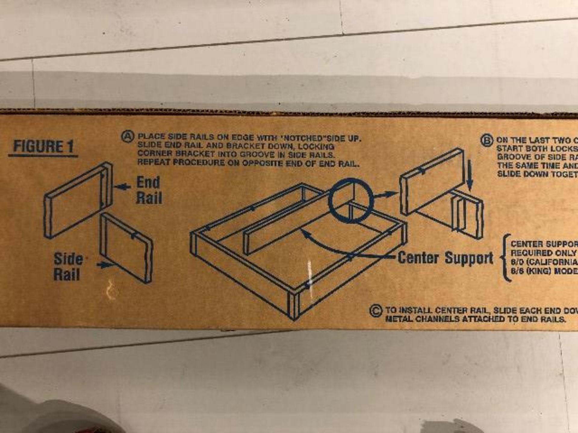 Lot 2038 - Pedestal bed base only