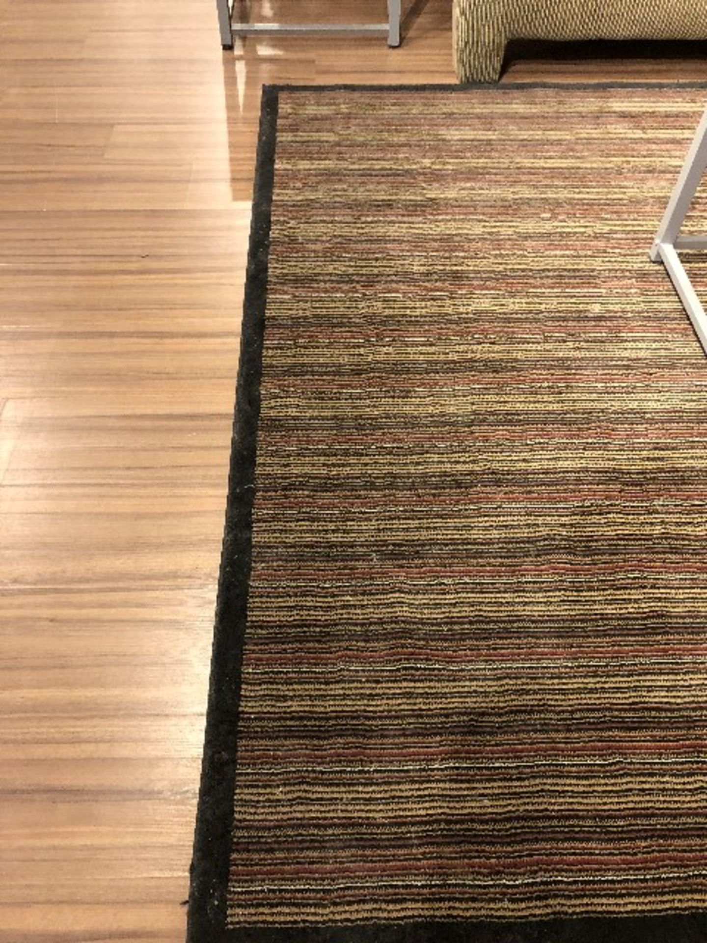 Lot 2010 - Area carpet, approx.9ftx7ft, showroom demo