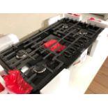 "Bosch NGM8646 36"" gas cooktop, 5 burners"