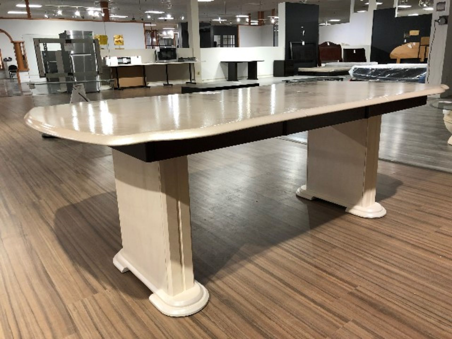 "Lot 2022 - Dining table only, approx.76""x36"""