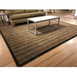 Area carpet, approx.9ftx7ft, showroom demo