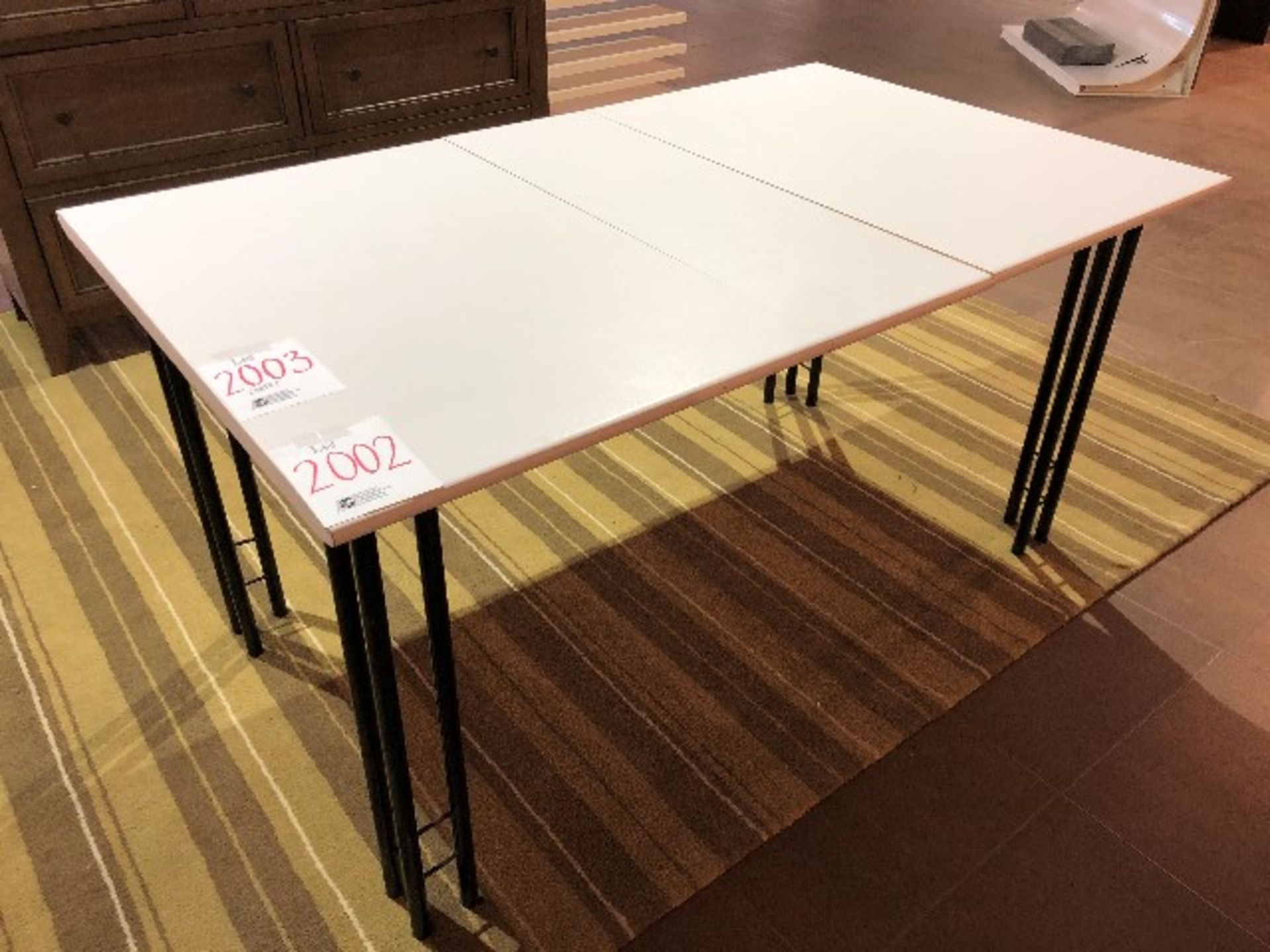 """Lot 2002 - Dining table, 59""""x36""""x30"""""""