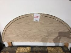 Headboard only, double size