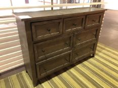 "Console cabinet, 61""x17""x42, Showroom demo, AS IS/TEL QUEL"
