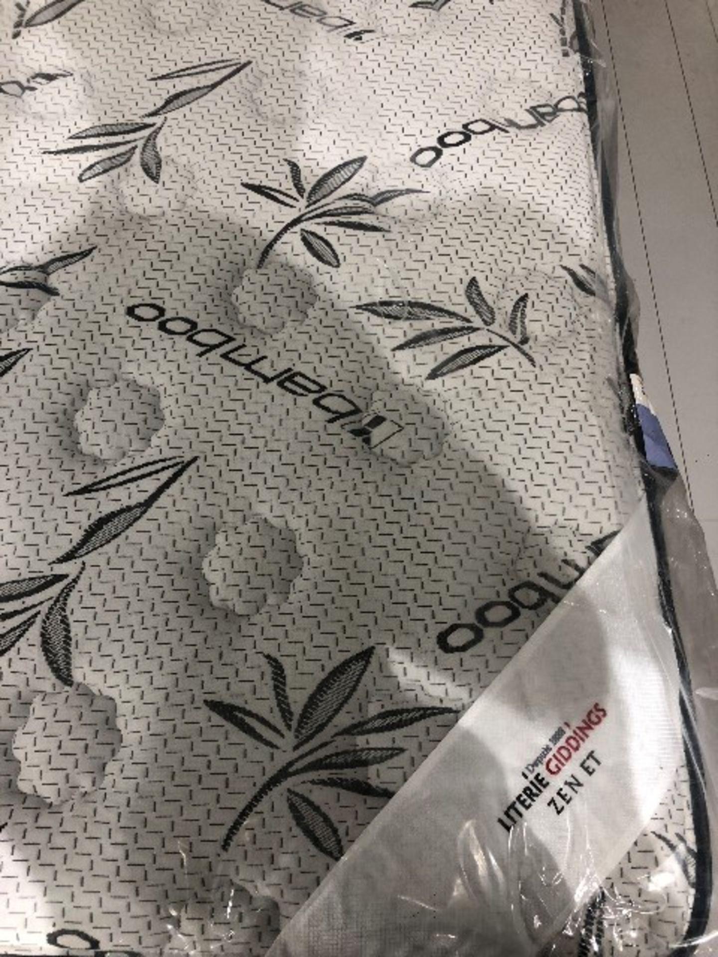 Lot 2033 - Bamboo mattress only, king size