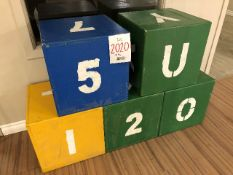 Decoration blocks, 5 pcs (Lot)