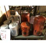 FRAM, Donaldson & WIX assorted filters, 10 pcs (Lot)