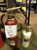 Fire extinguisher, 2 pcs